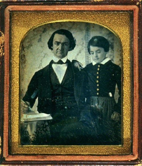 George Macintosh Maclean (1806-1886, Class of 1824) and his son John Maclean (1837-1870, Class of 1858), ca. 1842-1845.