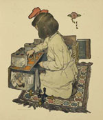 The Book of the Child [Frontispiece], by Elizabeth Shippen Green and Jessie Willcox Smith
